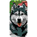 Babula Designer Back Case Cover for Samsung Galaxy A7 (6) 2017 :: Samsung Galaxy A7 2017 Duos :: Samsung Galaxy A7 2017 A710F A710M A710Fd A7100 A710Y :: Samsung Galaxy A7 A710 2017 Edition (Dog Bones Dog Dress For Male A Dog So Small)