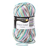 Schachenmayr  Bravo Color 9801421-02083 mineral Handstrickgarn, Häkelgarn