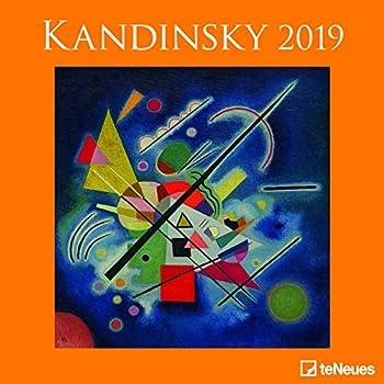 Mhw Calendrier.Calendrier 2019 Vassily Kandinsky Artiste Art Abstrait