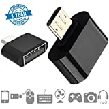 Twogood Micro USB On-The-Go OTG Adapter For Data Sync, Transmission And Connection For Keyboards, Mouse, Pendrives, SD/TF Cards Compatible With Mi A1, Redmi Note-4 & Moto G5 (1 Year Warranty, Assorted Colour)