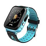CDSS Smart Watch Kinder Phone Watch Kann Bildunterstützung Zwei-Wege-Gespräch, Positionierung, 1,44 Zoll Bildschirm,Blue
