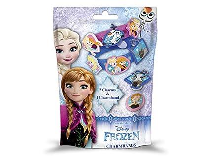 Disney Frozen Pulsera único, Pack 2Charms & 1charmband, Entrega Surtidos por Frozen