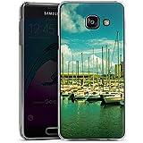 Samsung Galaxy A3 (2016) Housse Étui Protection Coque Port Bateaux Bateaux
