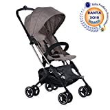 Roma Capsule Stroller in Tweed, The One Handed Folding Holiday Buggy Designed