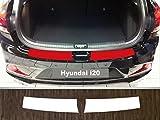 is-tuning passgenau für Hyundai i20, ab 2015; Lackschutzfolie Ladekantenschutz transparent