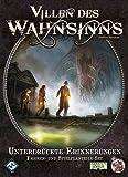 Asmodee FFGD1022 Villen d.Wahnsi.2.Ed. - Unterdrückte Erinnerungen, Erweiterung
