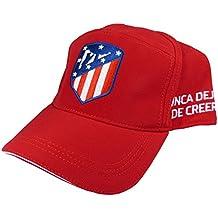 Gorra Oficial Atletico de Madrid - Escudo Nuevo - Nunca dejes de creer