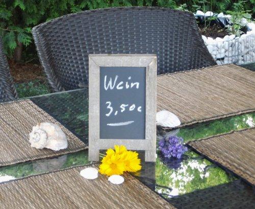 Memotafel Kreidetafel Restaurant-Tischtafel – beidseitig beschreibbar! - 2
