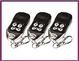 3 X SOMMER 4026 / Sommer 4020 Kompatibel Handsender, Ersatz sender, 868.8Mhz rolling code keyfob. ( NOT MADE BY SOMMER GMBH )