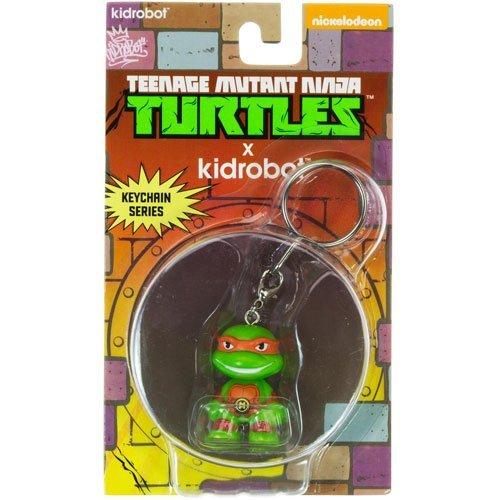 Turtles Michelangelo Mini Trading Figur Schlüsselanhänger ()