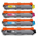 OfficeWorld Toner per Brother TN241 TN245 Cartuccia del toner TN-241 TN-245 Compatibile per Brother HL-3140CW, HL-3150CDW, HL-3170CDW, DCP-9020CDW, MFC-9140CDN, MFC-9340CDW, MFC-9330CDW, MFC-9130CW