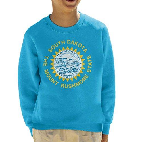 South Dakota State Flag Kid's Sweatshirt - Tee South Dakota