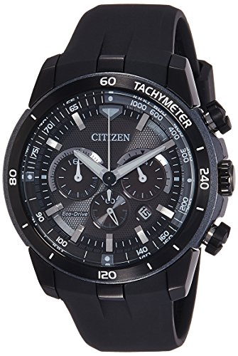 Citizen Mens ECO-DRIVE Chrono Analog Dress Solar 2014 Watch (Imported) CA4157-09E