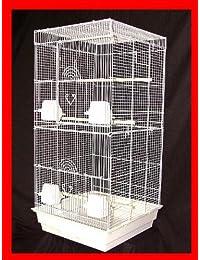 Jaula de Pájaros Boston apartamento Parakeet Cockatiel Lovebirds