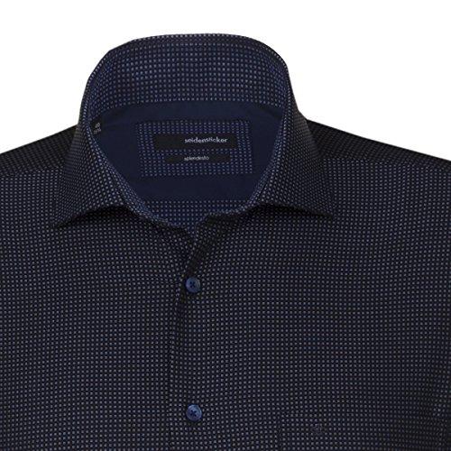 Seidensticker -  Camicia classiche  - Classico  - Maniche lunghe  - Uomo blau (0017)