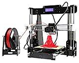 Anet A8 3D Drucker printer Desktop Acryl LCD Bildschirm i3 DIY hohe Präzision Selbstbauen druckmaschine 3D kit