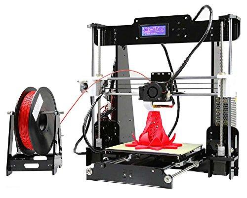 Kit stampante 3D Anet A8i3, display LCD, telaio in acrilico, auto-assemblaggio di alta precisione, fai-da-te