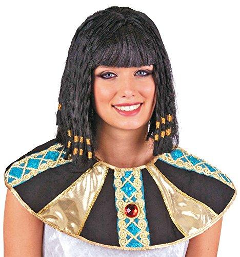 rücke Cleopatra schwarz Zubehör Cleopatra Perücke Damenperücke Kunsthaar für Karneval, Fasching, Halloween, Motto Party / Verkleidung Nationen Ägypten (Sah Kinder Kostüm)