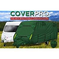 Funda para caravana CoverPro de 4 capas y calidad suprema. De 6,40m a 7,01m