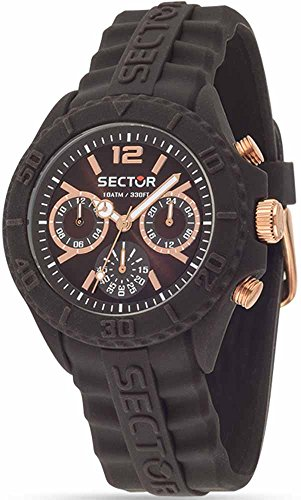 Sector Unisex Analogue Watch with brown Dial Analogue Display - R3251580003