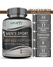Naturyz Men's Sport Multivitamin With 55 Vital Nutrients &
