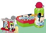 Best Botellas de agua de Mickey Mouse - Mickey Mouse - Set cantimplora y sandwichera Review