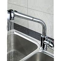 MEICHEN-FaucetKitchen rubinetto di estrazione tradizionale Spray cromato in ottone