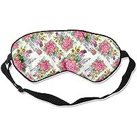 Comfortable Sleep Eyes Masks Plaird Floral Pattern Sleeping Mask For Travelling, Night Noon Nap, Mediation Or... preisvergleich bei billige-tabletten.eu