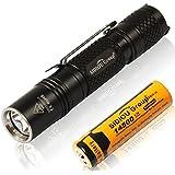 Sidiou Group Super brillante CREE T6 LED linterna antorcha 7W 900 lumens Linterna con zoom