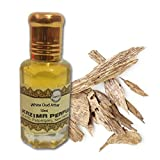 KAZIMA White Oud Attar Perfume For Unisex - Pure Natural Undiluted (Non-Alcoholic) (10ml)
