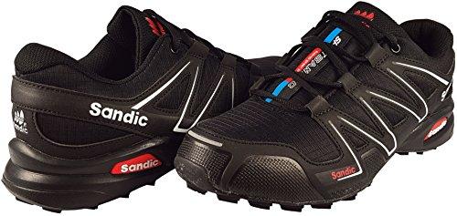 Scarpe Da Ginnastica E Scarpe Sportive Da Uomo Lekann Per Outdoor E Fitness, 41-46 Nero (nero)