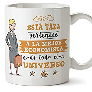 economistas: Mugffins economista. Tazas Originales de café y Desayuno para Regalar a Trabajad...