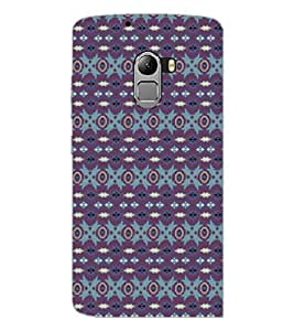 PrintDhaba Pattern D-5258 Back Case Cover for LENOVO K4 NOTE A7010a48 (Multi-Coloured)