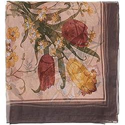 Parfois - Fular Estampado Printed - Mujeres - Tallas M - Rosa