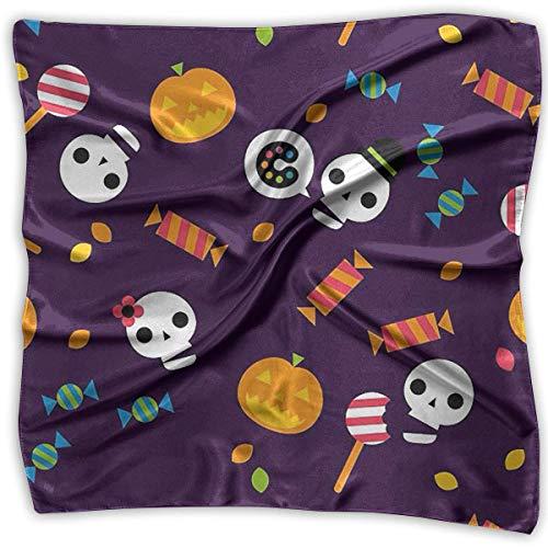 Xukmefat Taschentücher Schal Halloween Wallpaper Urlaub Neuheit Schal Bandanas Multifunktions Party Geschenke