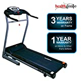 Healthgenie Drive 4012M Motorized Treadmill (2.0 HP), Manual Incline & Max Speed 14