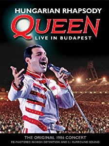 Queen: Hungarian Rhapsody - Live In Budapest [Blu-ray] [2012] [Region Free]