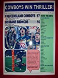 North Queensland Cowboys 17 Broncos 16–2015 NRL Grand Finale – Souvenir d'impression