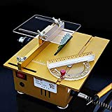 Portable Table Saw Handmade Woodworking Bench Lathe Electric Polisher Grinder Cutting Saw DIY