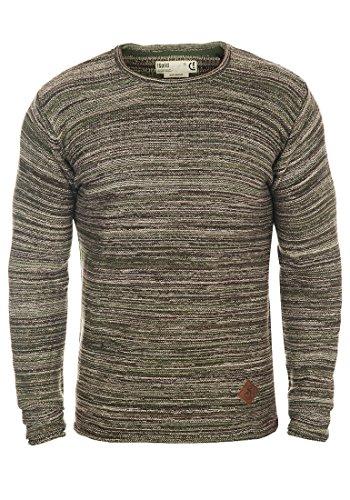 SOLID Menghi - Maglione da Uomo, taglia:XL;colore:Duffel Bag Green (3590)