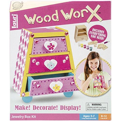 Preisvergleich Produktbild Wood WorX Kit-Jewelry Box