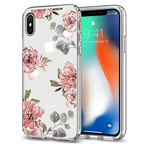 Coque iPhone X, Spigen® [Liquid Crystal] Variation Parent