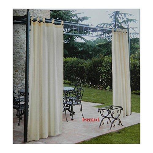 Tenda gazebo confezionata con asole cotone id 594