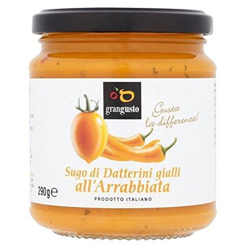 Grangusto Gelben Tomaten und Chili Sugo für die Pasta 290g (Packung von 6) (Motherboard Gelb)