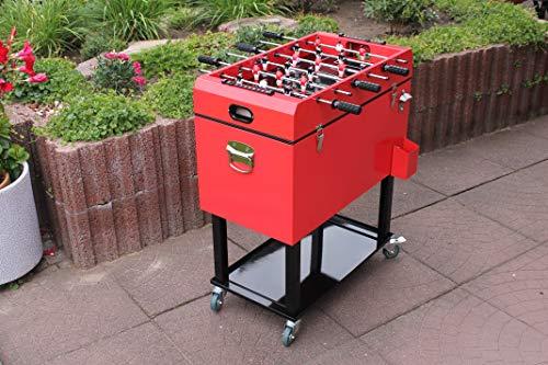 Leco Kicker Kühlbox, Rot, ca. L 69 x B 37 x H 83 cm