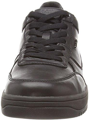 Geox U ALOY B Herren Sneakers Schwarz (C9999BLACK)