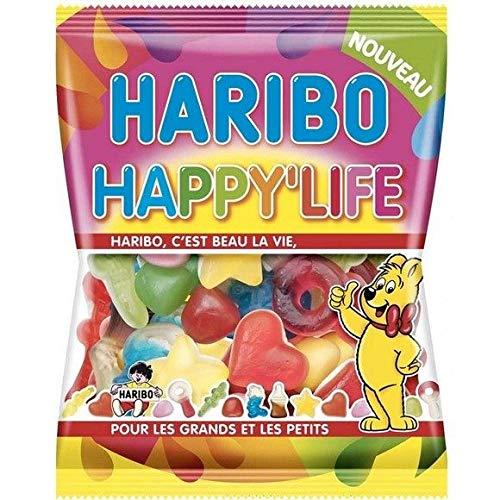Haribo - Confiserie Assortie Happy'Life - Les 3 Sachets De 275G - Livraison Gratuite Pour Les Commandes En France - Prix Par Unité