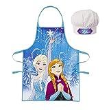 Kinder Küche Chef Set mit Kochschürze und Kochmütze wählbar Paw Patrol Minnie Frozen tolles Geschenk - Frozen