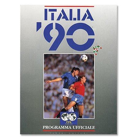ffizielles Souvenir ital.Ausgabe- WM Finale, Italien ()