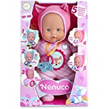 Nenuco - Muñeco, Blandito 5 funciones, color rosa (Famosa 700013381)